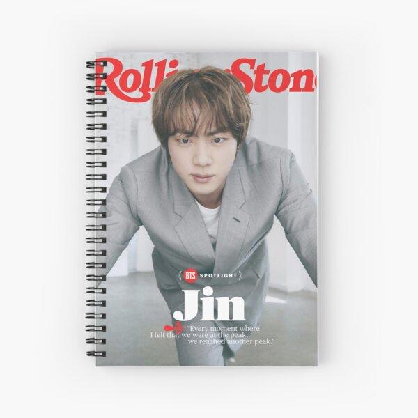 Jin RollingStone Spiral Notebook