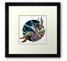 Mr. Antlers Framed Print