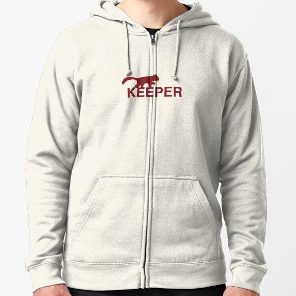 Red Panda Keeper Zipped Hoodie