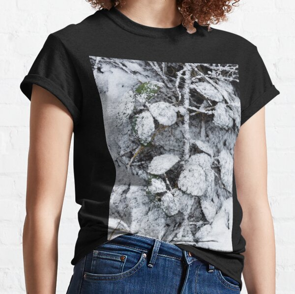 Snow Covered Fern Classic T-Shirt