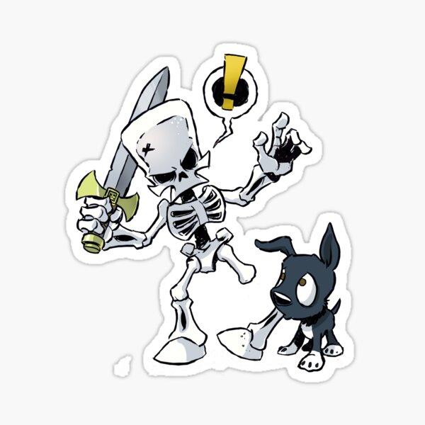 Bark n Bone - Pull your leg Sticker
