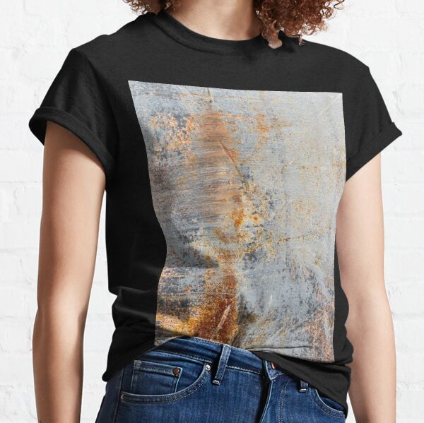 Blauer Rost brennen Classic T-Shirt