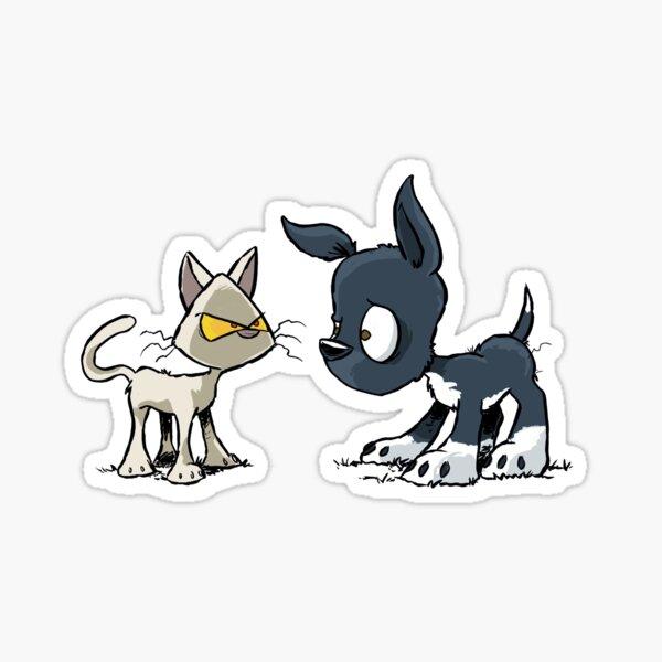 Bark n Bone - CAts n Dogs Sticker