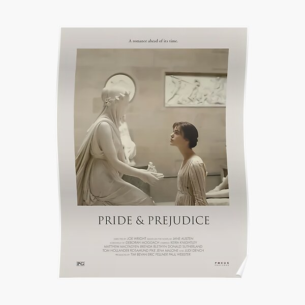Orgullo y prejuicio (2005) Minimalista - Póster