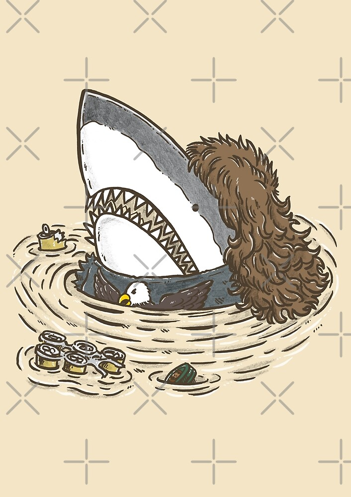 The Mullet Shark by nickv47