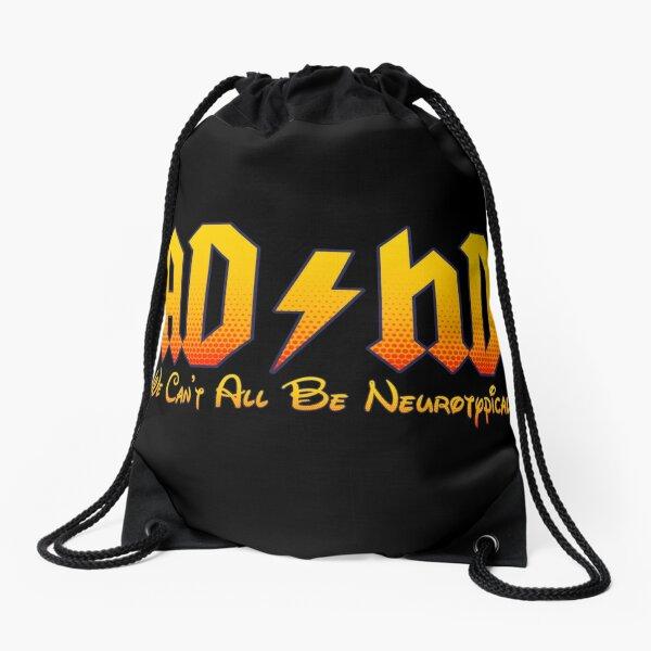 ADHD Awareness Drawstring Bag