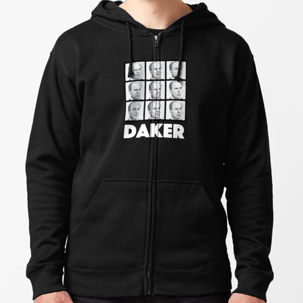 My name is John Daker Shirt Zipped Hoodie