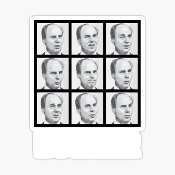 My name is John Daker Shirt Sticker