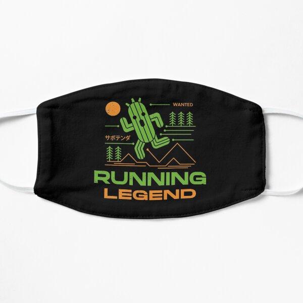 The Running Legend Flat Mask