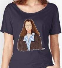 The Mysterious Muffy and Buffy Twins April Fools Day Portrait Women's Relaxed Fit T-Shirt