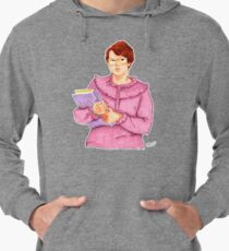 Barb from Stranger Things Portrait Lightweight Hoodie