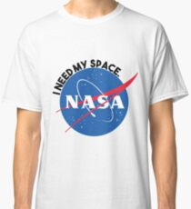 NASA- I Need My Space Classic T-Shirt