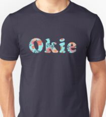 Okie in prairie flower Unisex T-Shirt
