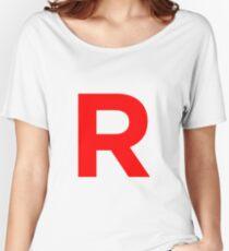 Team Rocket Pokemon Logo Women's Relaxed Fit T-Shirt