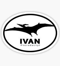Dino Bite Ivan Sticker
