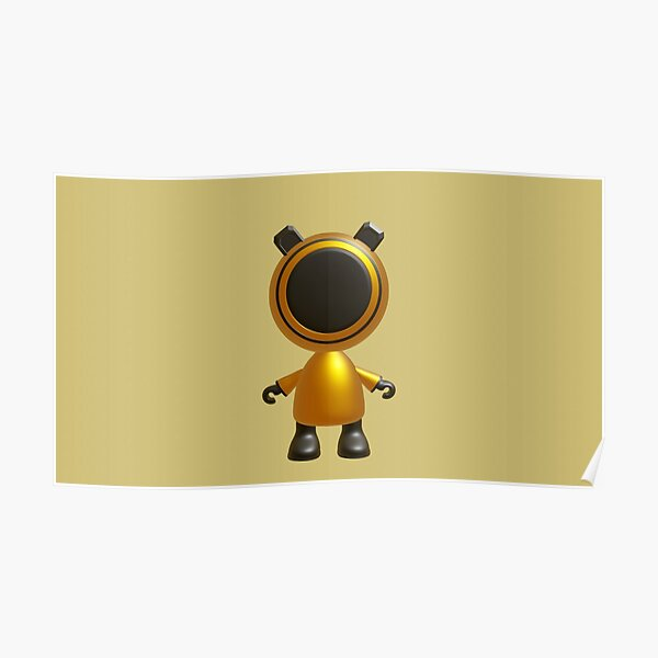 Robot Character RC1 Poster