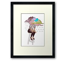 Head in the Clouds Framed Print