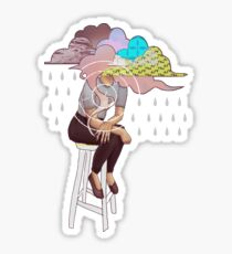 Head in the Clouds Sticker