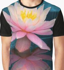 Lotus Flower  Graphic T-Shirt