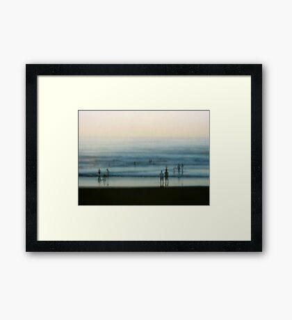Seconds Framed Print
