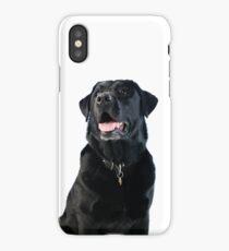 Black Labrador retriever iPhone Case/Skin