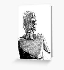 Roy Batty- Blade Runner - Dot Greeting Card