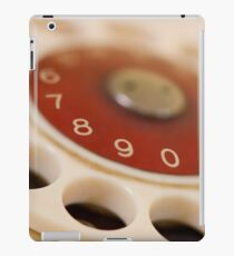 dial up iPad Case/Skin