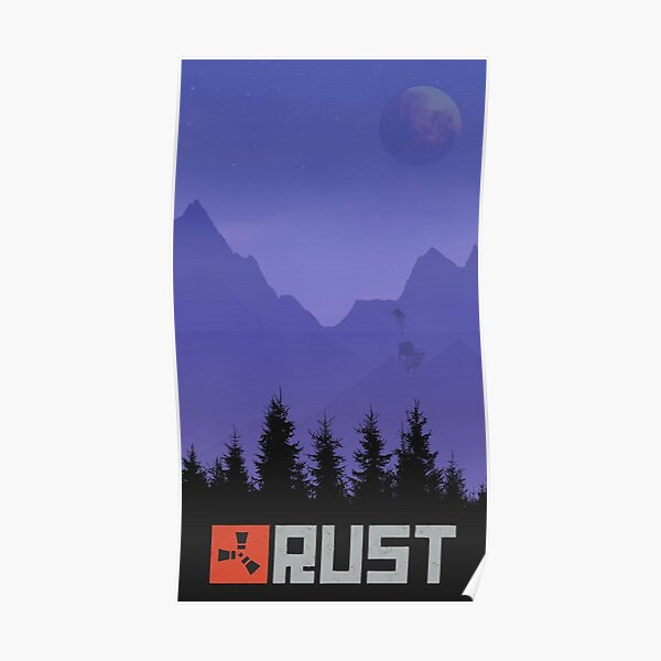 Rust The Forrest Gaming Poster
