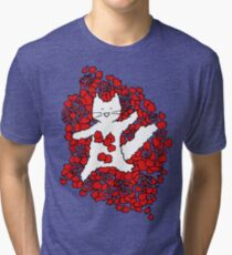 American Fluffy Tri-blend T-Shirt