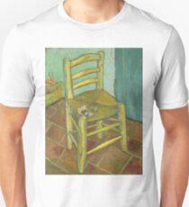 Chair still life by Vincent Van Gogh Unisex T-Shirt