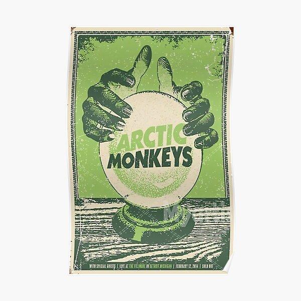 Green Hand Ball Poster