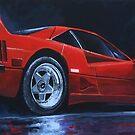 1990 Ferrari F40  by Yuriy Shevchuk