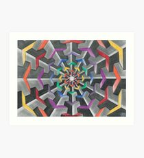 Tessellations  Art Print