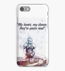 Cloud Strife and Zack Fair Last Moment iPhone Case/Skin