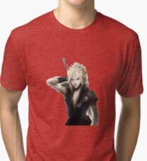 Cloud Strife Final Fantasy VII Advent Children Tri-blend T-Shirt