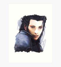 Zack Fair Final Fantasy Art Print