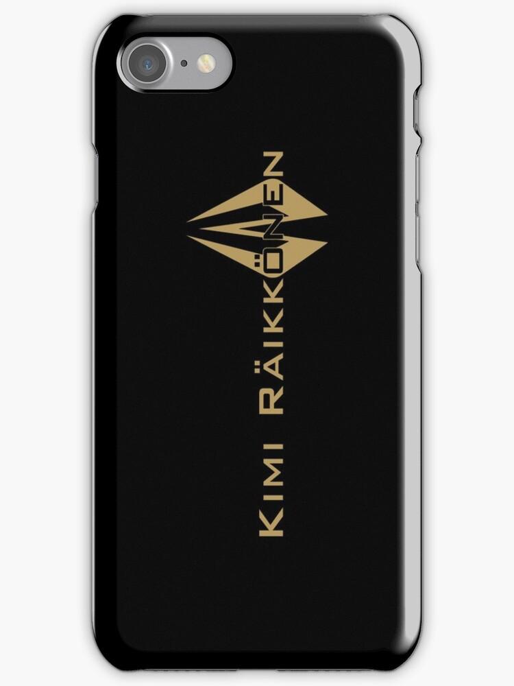 Kimi Raikkonen (Black & Gold) by Tom Clancy