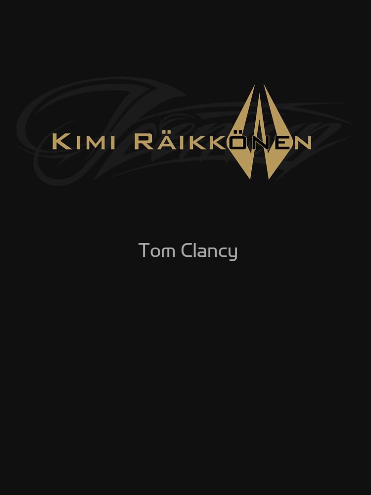 Kimi Raikkonen - Iceman (Black & Gold) | Unisex T-Shirt