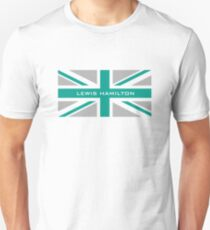 Lewis Hamilton (Team colours) T-Shirt