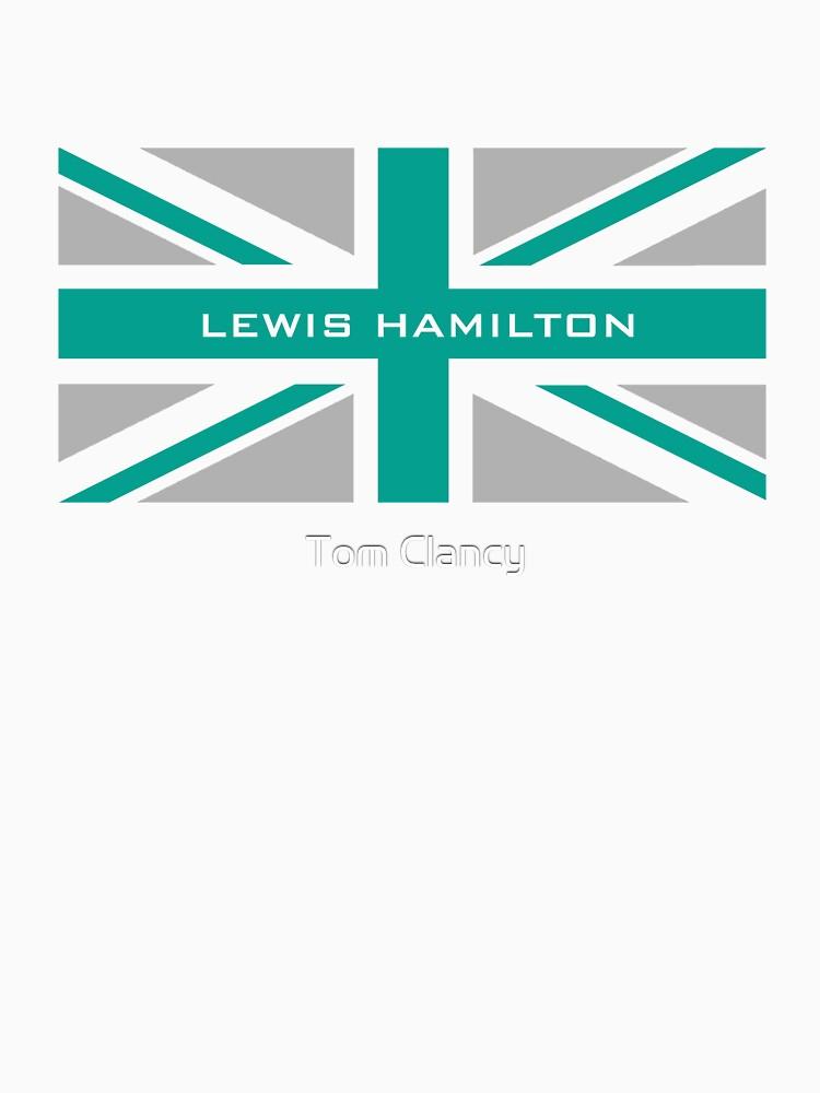 Lewis Hamilton (Team colours) | Unisex T-Shirt