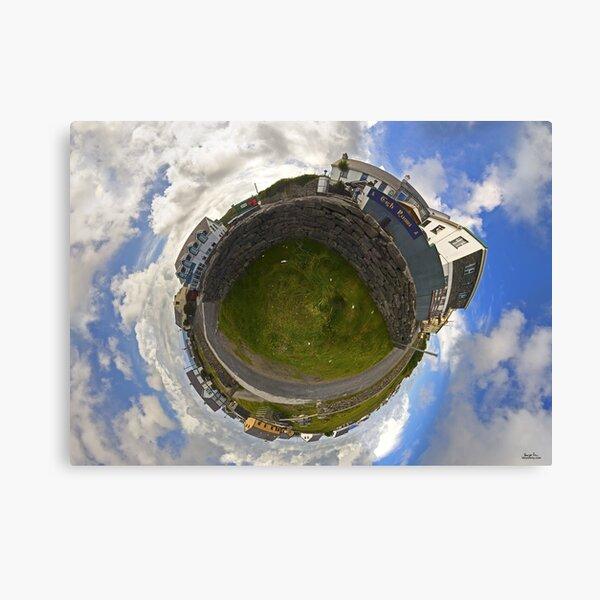 Tigh Ruairi - Inisheer Village (Sky out)  Canvas Print