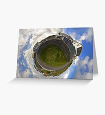 Tigh Ruairi - Inisheer Village (Sky out)  Greeting Card
