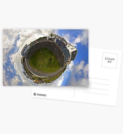 Tigh Ruairi - Inisheer Village (Sky out)  Greeting Card