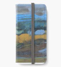 landscape blue iPhone Wallet/Case/Skin