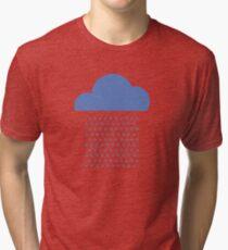 We love weather! rain, clouds, water, raindrop, spring, summer, autumn Tri-blend T-Shirt