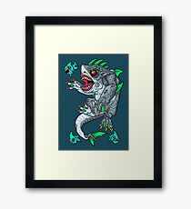 Goblin Shark Framed Print