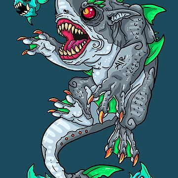 Goblin Shark by blackvultureink
