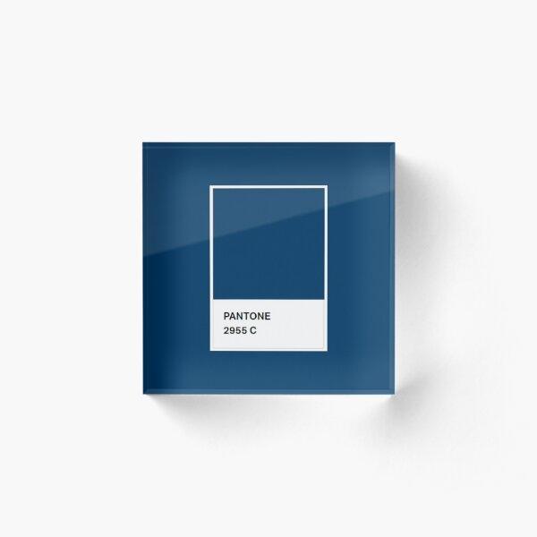 Pantone Colour 2955 C Acrylic Block