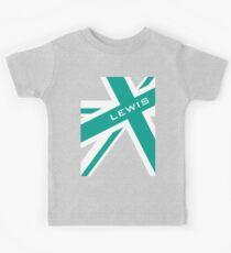 Lewis Hamilton - Team Colours Kinder T-Shirt