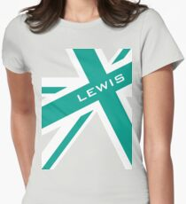 Lewis Hamilton - Team Colours Women's Fitted T-Shirt